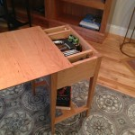 Hidden Gun Concealment Compartment Under Table Top