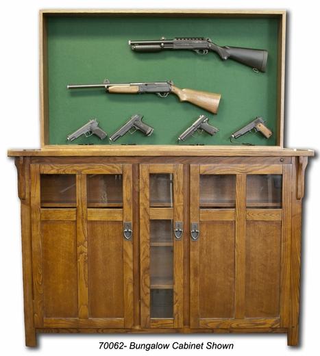 Secret Gun Display Rack in Furniture