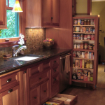Secret Storage Under Kitchen Cabinet