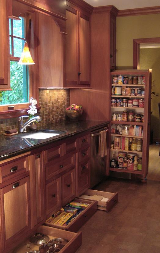 Hidden Storage in Kitchen