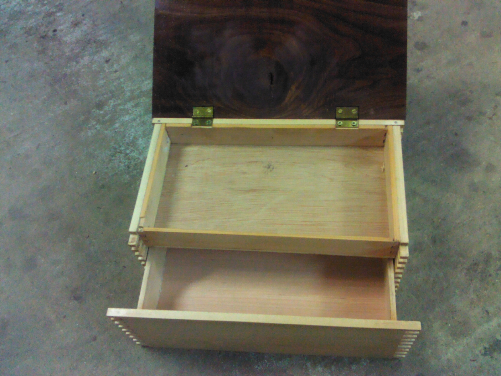 Humidor with Secret Compartment