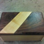Custom Humidor with Secret Compartment Drawer in Bottom