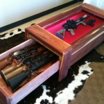 Gun Display and Concealment Table Furniture