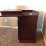 Hidden Compartment Under Top of Nightstand - Furniture