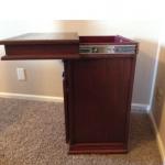Hidden Compartment Under Top of Nightstand - Furniture