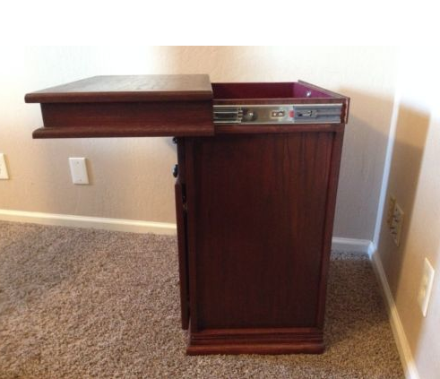 Bon Hidden Compartment Under Top Of Nightstand   Furniture