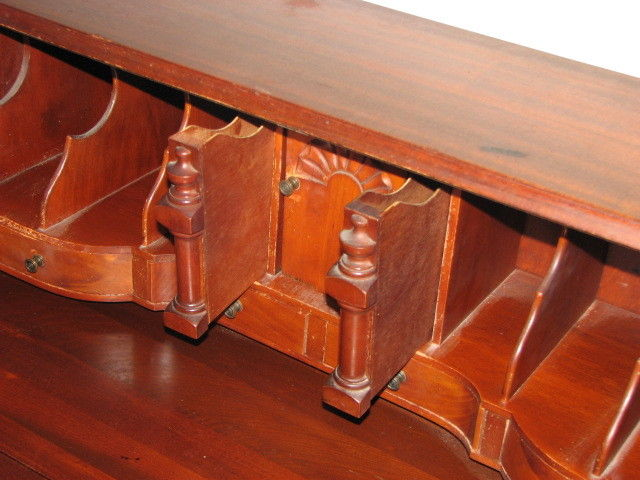 Secret compartments in antique desk stashvault for Furniture w hidden compartments