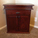Hidden Compartment Nightstand Furniture