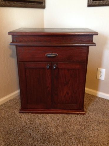 Secret Gun Concealment Nightstand Stashvault
