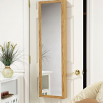 Hidden Compartment Behind Mirror Door