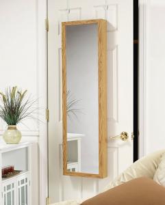 Hidden Compartment Behind Mirror Door