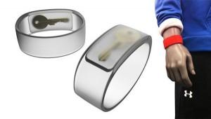 Hidden Stash Compartment in Wristband