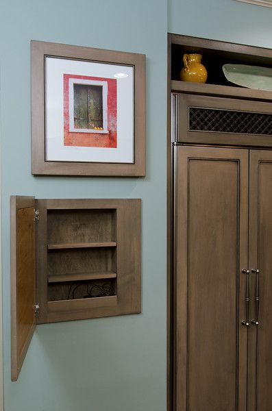 Secret Wall Storage Behind Picture Frame Stashvault