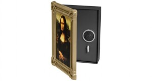 Wall Safe Behind Picture Frame