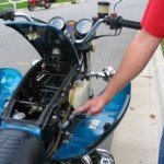 Honda Motorcycle - False Gas Tank Compartment