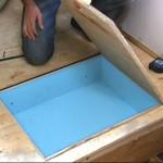 DIY Under Floor Storage