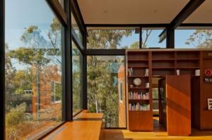 Hidden Bookcase Door in Wall