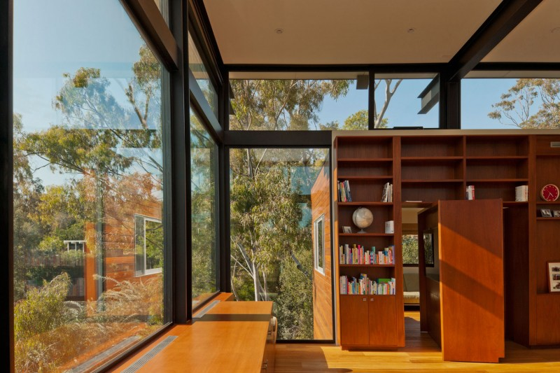 Giant Rotating Bookcase Door