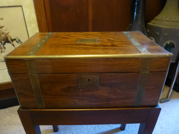 Victorian Laptop - Captain's Writing Box