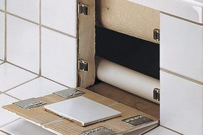 Secret Tile Wall Compartment Brackets
