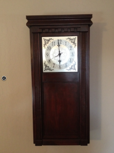 Hidden Compartment Wall Clock
