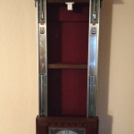 Hidden Interior Compartment in Wall Clock