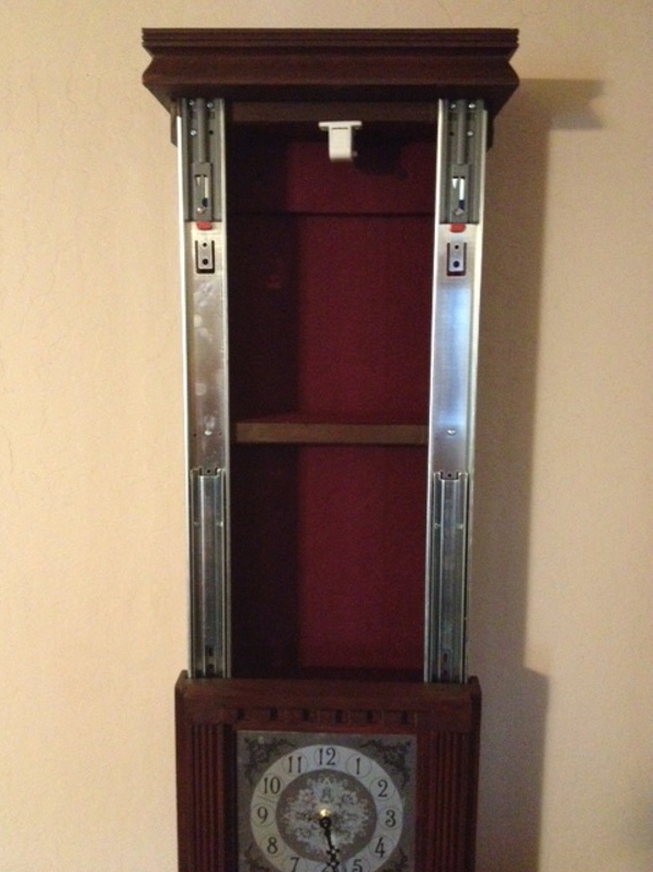 Secret Compartment Wall Clock