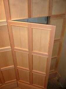 Hidden Door Panel