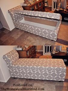Chaise Lounger with Hidden StorageChaise Lounger with Hidden Storage