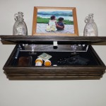 Secret Compartment in Wall Shelf