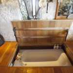 Floor Lifts to Reveal Hidden Hot Tub