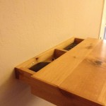 Secret Compartment Revealed Inside Shelf
