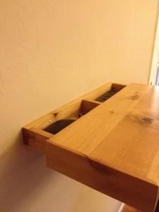 Secret Compartment Revealed Inside Shelf