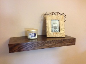 Secret Compartment in Floating Wall Shelf