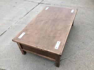 Coffee Table with HIdden Gun Storage