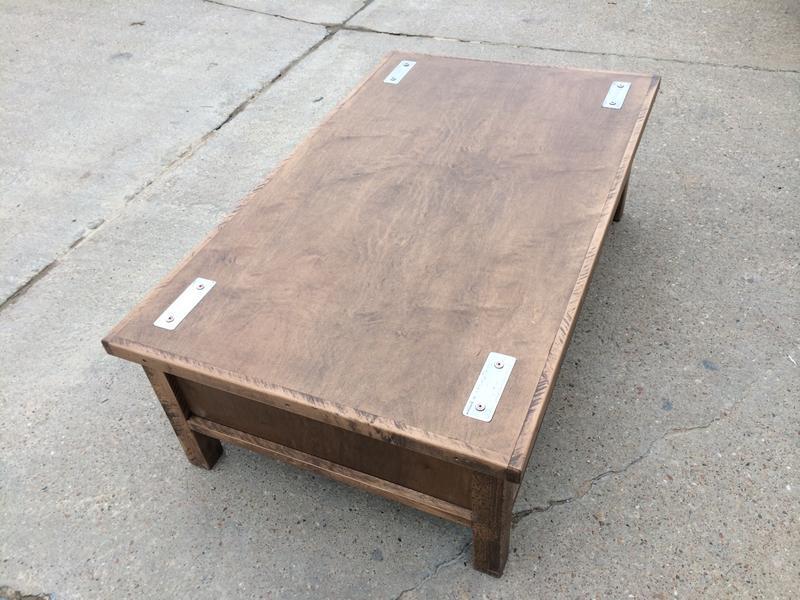 Hidden Gun Storage Coffee Table Stashvault