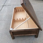 Hidden Gun Compartment in Coffee Table