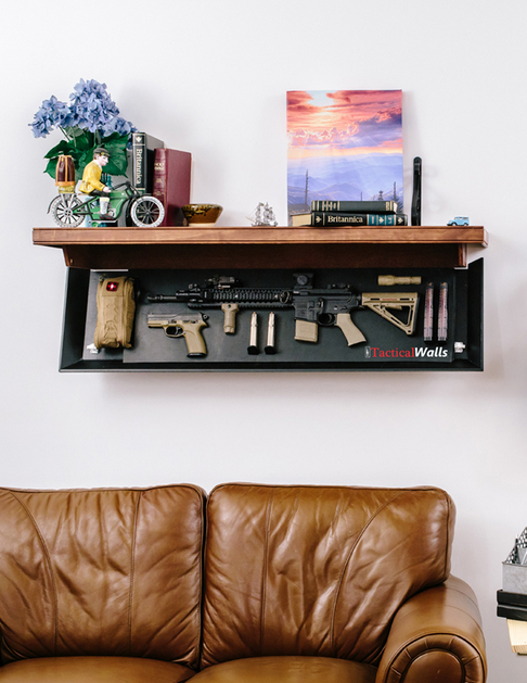 TacticalWalls Hidden Gun Storage Shelf