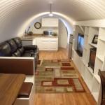 Interior of Atlas Survival Shelter