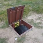 Trap Door to Underground Storm Shelter