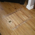Trap Door in Floor - Closed