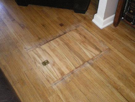 Trap Door In Floor Closed Stashvault