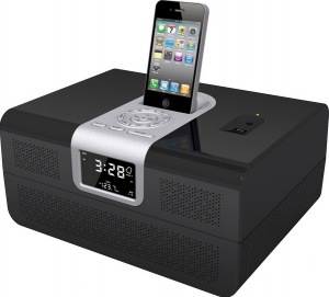 Biometric Safe Radio Clock