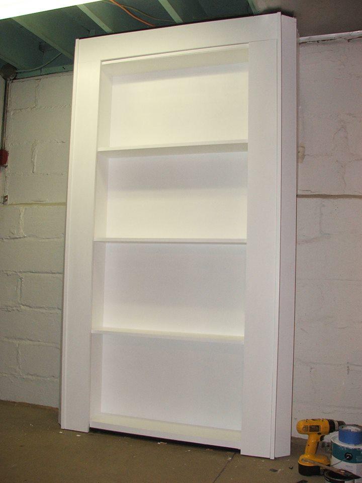 Secret Bookcase Door In Basement