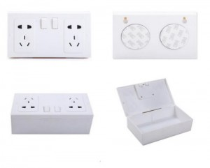 Australian Electric Outlet Wall Safe
