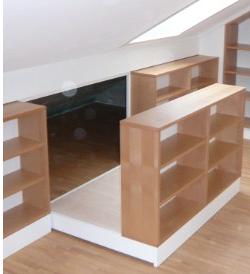 Hidden storage behind bookcase stashvault for Secret storage bookcase