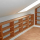 Bookcase Conceals Hidden Space