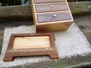Secret Compartment in Jewelry Box Base