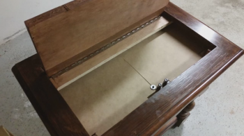 DIY Secret Compartment Lift-Top Dresser