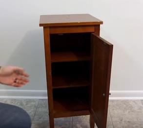 DIY Secret Compartment Nightstand